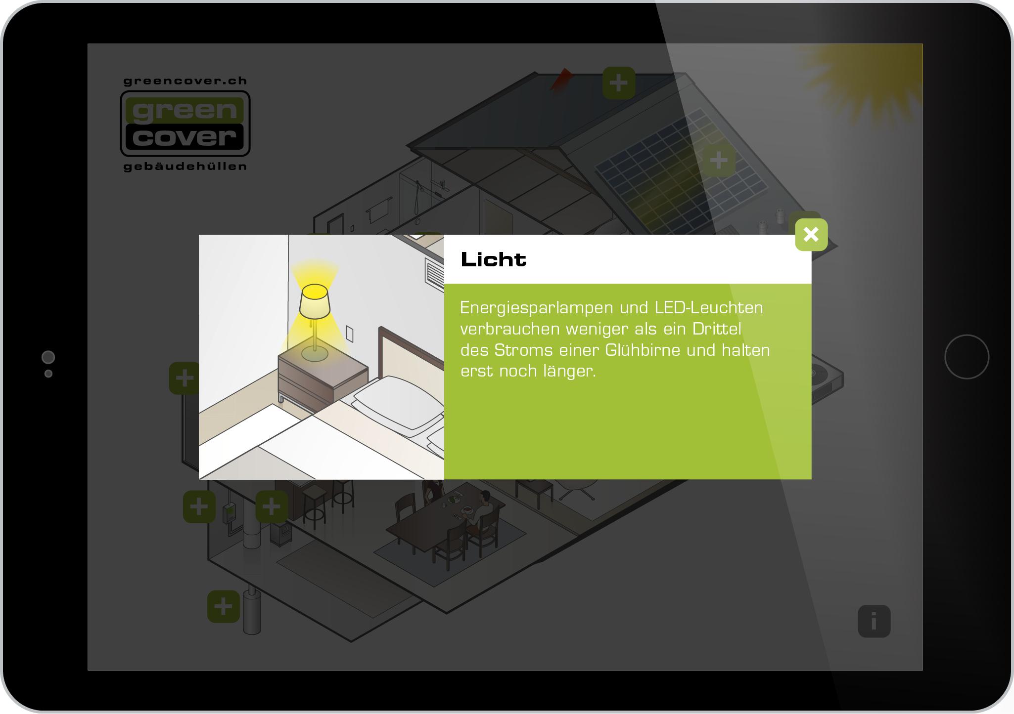 Greencover AG Tablet Präsentation SIGA 2016