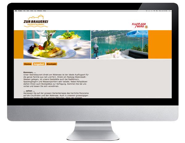 Internet Seerestaurant zur Brauerei
