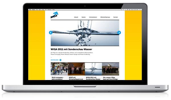 Internet WIGA 2011 Werdenberger Industrie- und Gewerbeausstellung