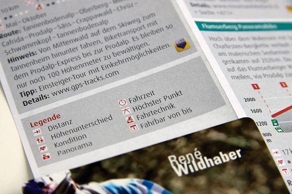 Flumserberg Pocketcard Mountainbike