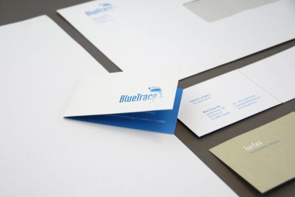Bluetrace Blue Trace Visitenkarten