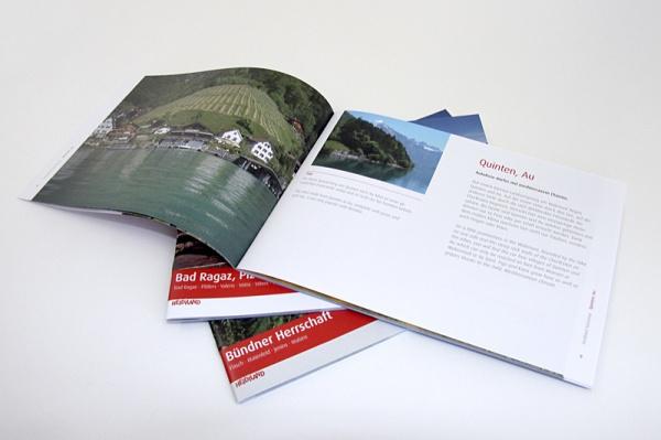 Heidiland Tourismus, Imagebroschüren