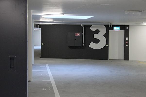 Bahnhofpark Sargans Signaletik