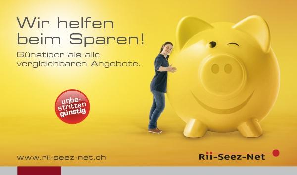 Rii-Seez-Net Weihnachtsaktion Inserat Sparschwein