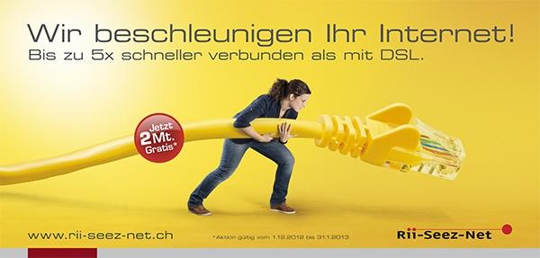 Rii-Seez-Net Weihnachtsaktion Plakat F12 Kabel