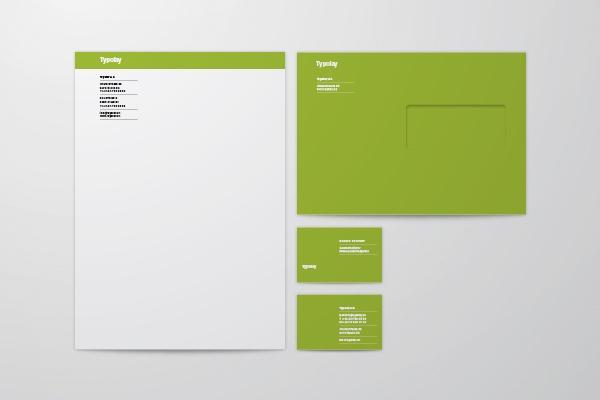 Typolay AG Neue Briefschaft