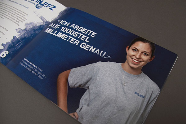 Sulzer Kampagne Lernende