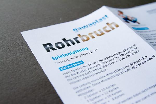 Gawaplast AG Rohrbruch
