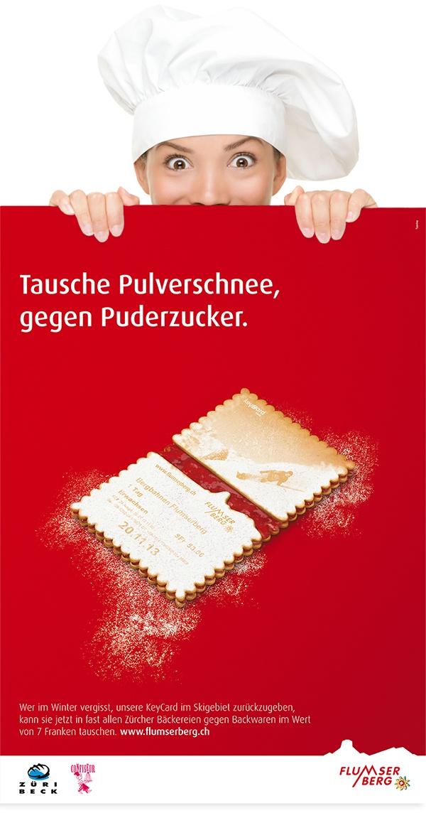 Flumserberg Spitzbube Plakat