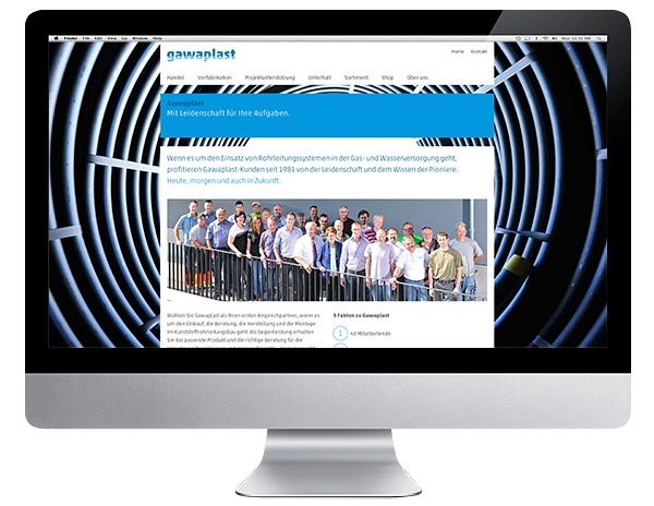Gawaplast AG Internet