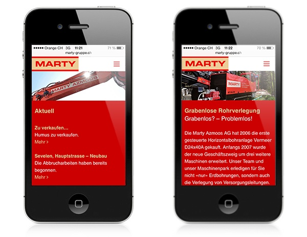 Marty Internet Responsive