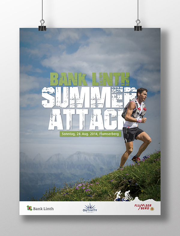 Bank Linth Summer Attack Plakat