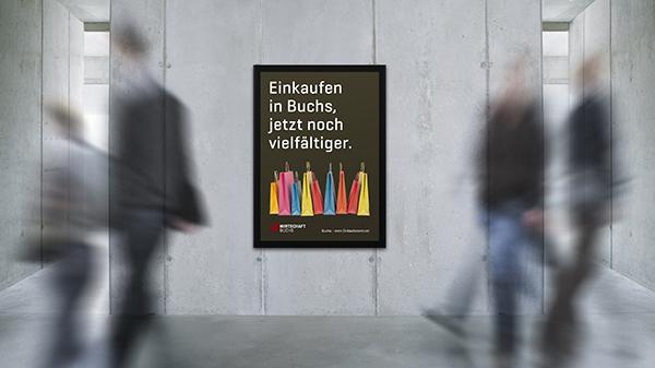 Wirtschaft Buchs Plakat F4