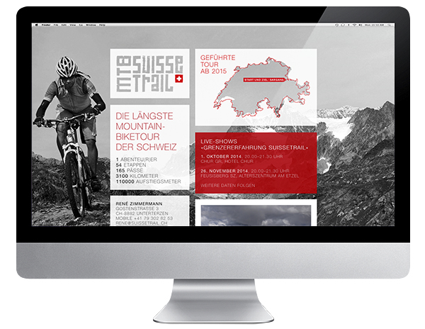 Mountainbike Suisse Trail Web