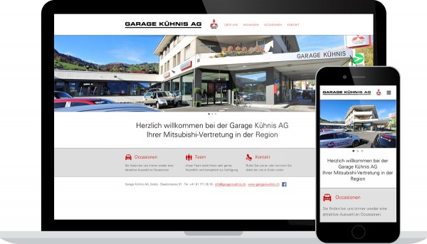 Garage Kühnis Grabs Internet