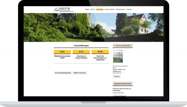 HHVW Historisch-Heimatkundliche Vereinigung der Region Werdenberg Internet