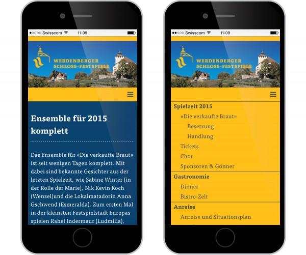 Werdenberger Schloss-Festspiele Internet