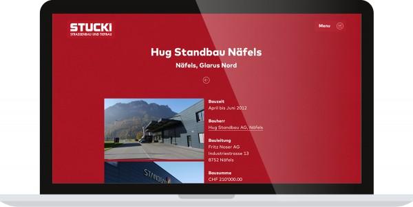 Stucki AG Bauunternehmung Näfels Internet