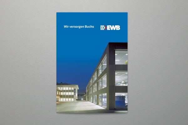 EW Buchs Imagebroschüre