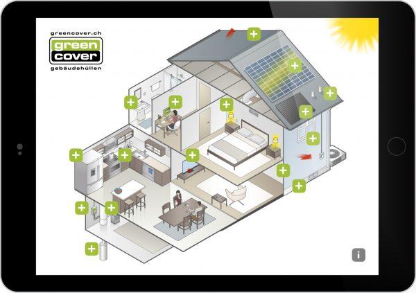 Greencover AG Tablet Präsentation