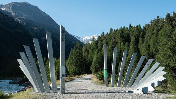Gletscherweg Morteratsch Tafeln